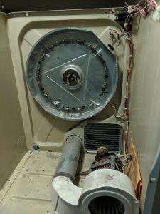 Dryer Not Heating Fridgidare Dryer Repair Before3