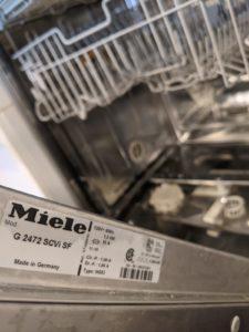 Miele dishwasher intake:drain blinking