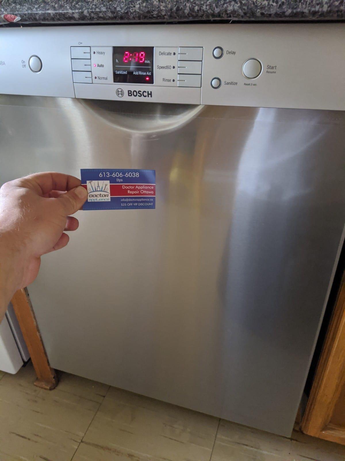Bosch Appliance Repair Ottawa
