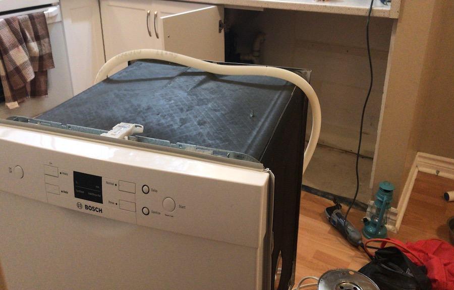 bosch diswasher installation ottawa