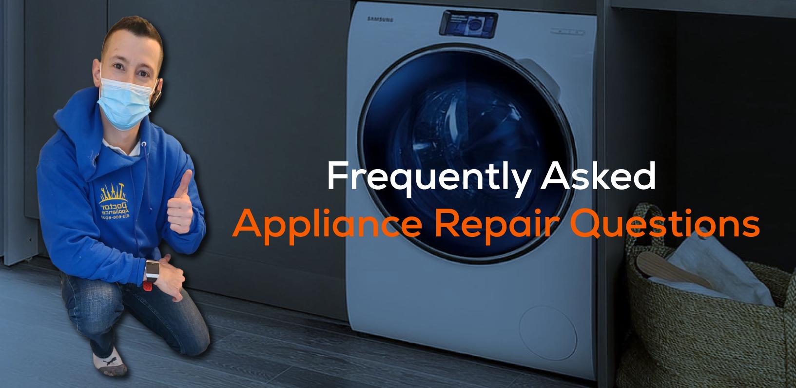 free same day appliance repair service appliance repair questions
