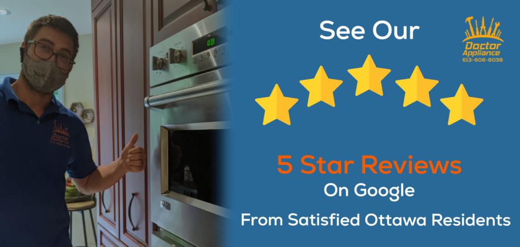 free same day appliance repair service ottawa 5 star appliance repair reviews