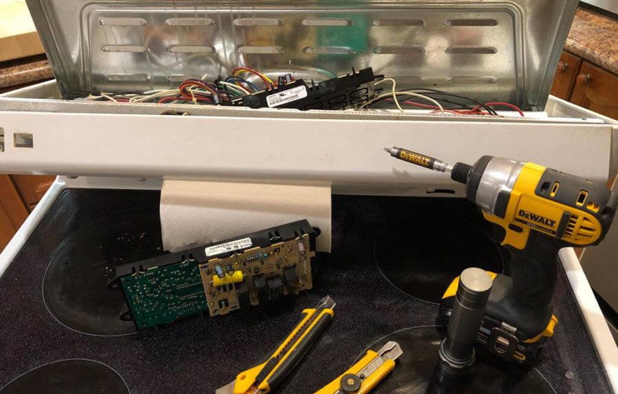 oven repair diy 900x575 2 - Gallery