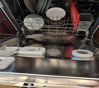 sub zero dishwasher repair