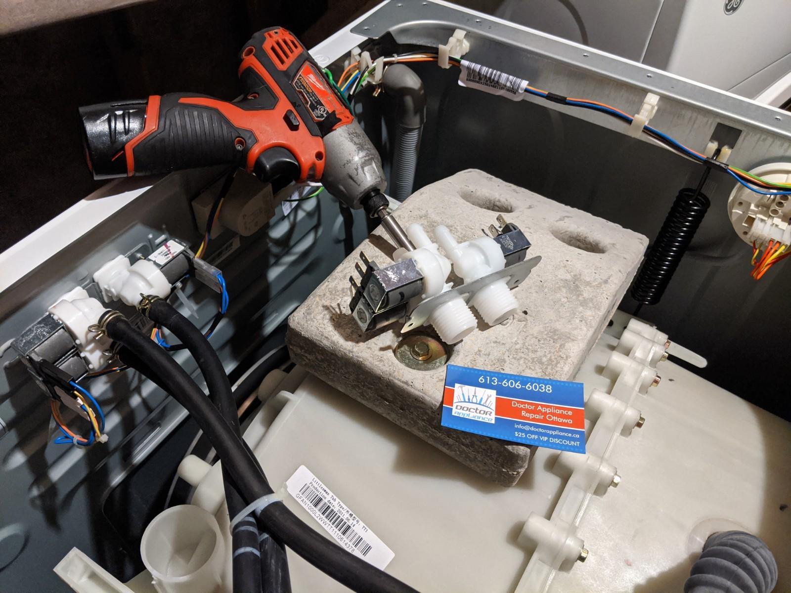 GE washer repair