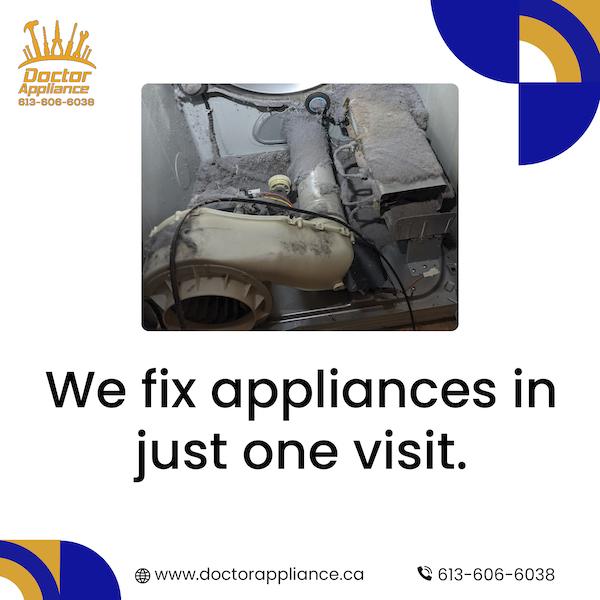 one visit gatineau appliance repair