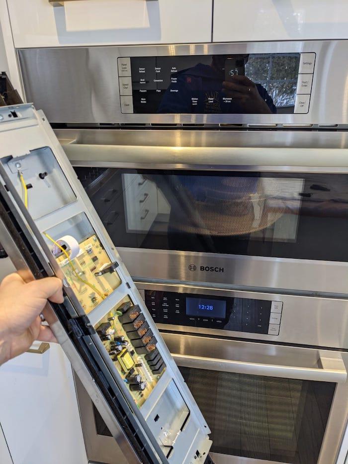 bosch microwave repair