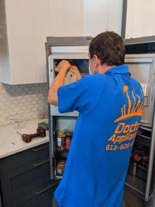 thermador fridge repair technician